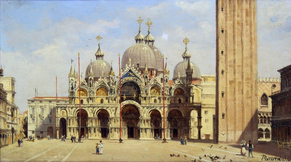 Romance of Venice Painting Banner Image