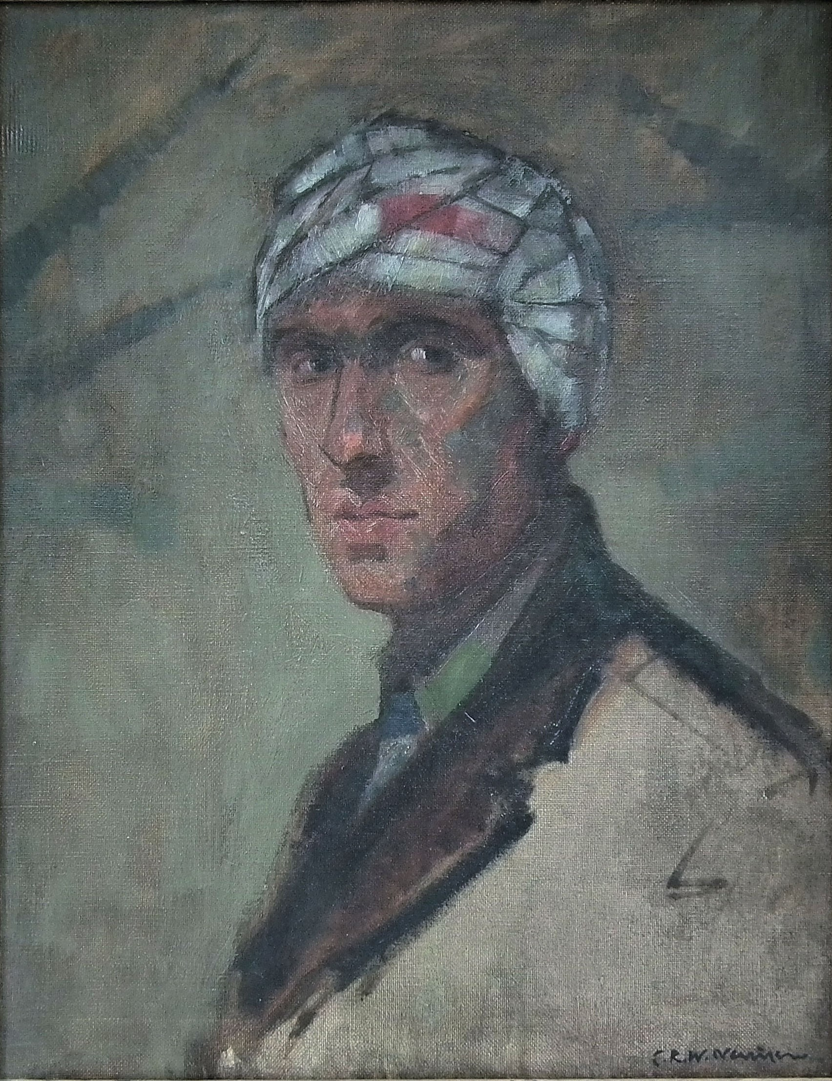 Haunting portrait by one of the greatest war artists in two day sale at The Canterbury Auction Galleries Banner Image