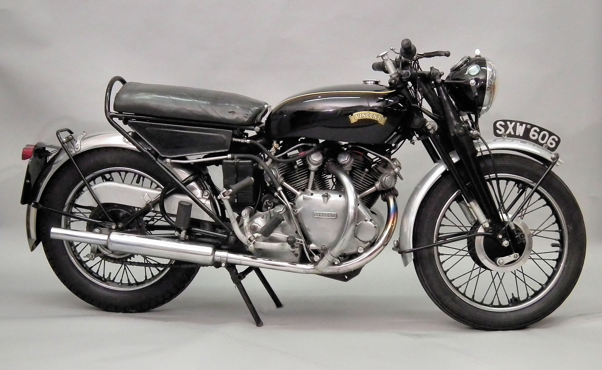 1955 Vincent Black Shadow in sale at The Canterbury Auction Galleries Banner Image