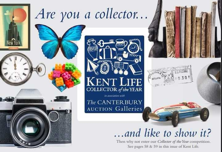 Kent Life Collector of the Year in association with The Canterbury Auction Galleries Banner Image