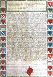 Cathedral steps in to purchase 18th century engraving of Canterbury's  Magna Carta in sale at The Canterbury Auction Galleries Featured Blog Image