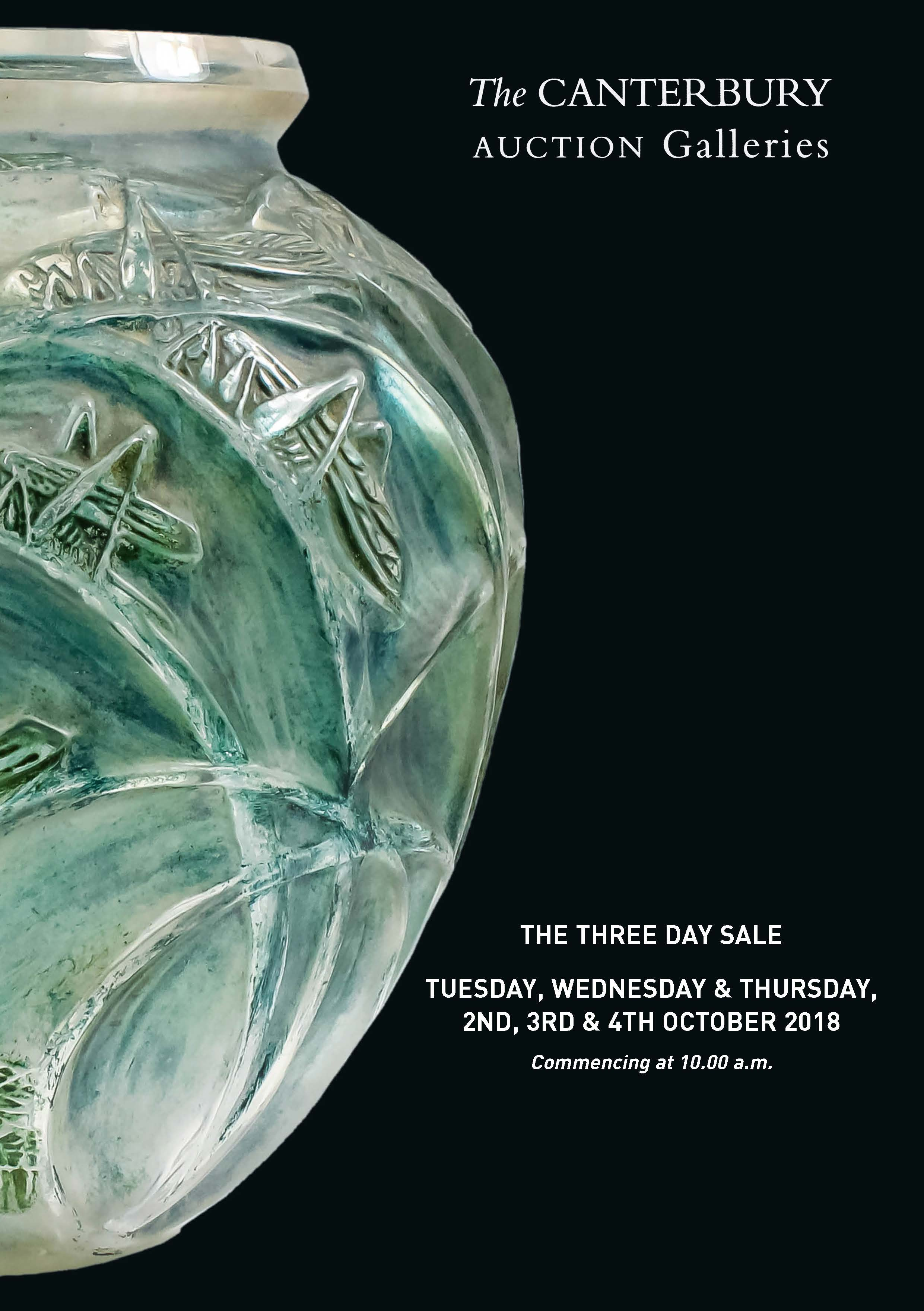October Three Day Sale of Fine Art & Antiques
