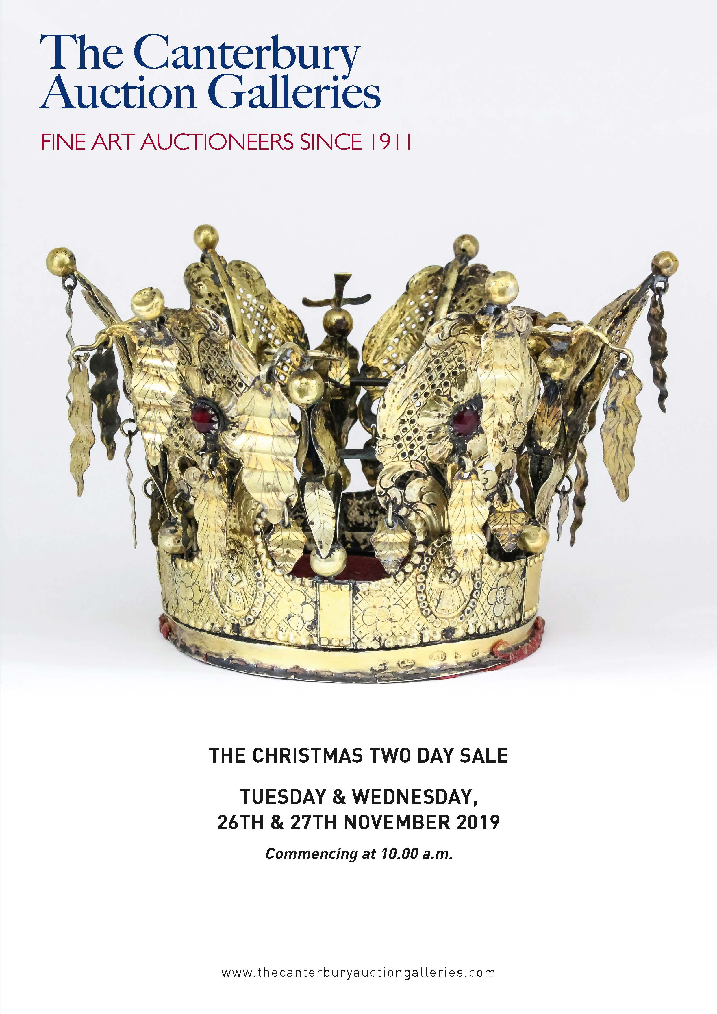 Day 1 - The Christmas Two Day Sale of Fine Art & Antiques