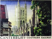 Iconic Rail Travel Posters Featured Blog Image