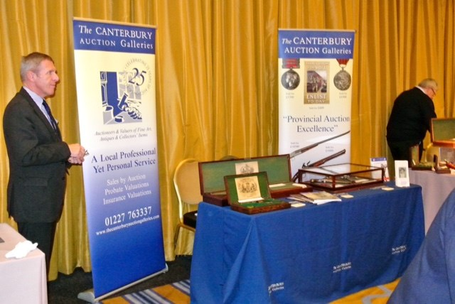 Brilliant day at the prestigious Park Lane Arms Fair for The Canterbury Auction Galleries Banner Image
