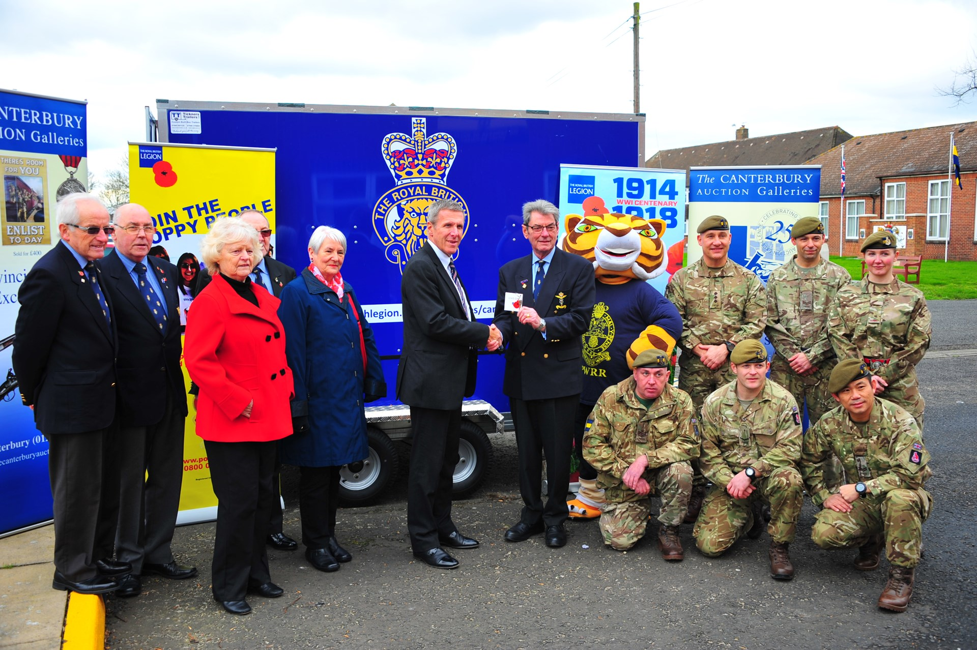 2015 catalogue proceeds raised £5750 for Royal British Legion Banner Image