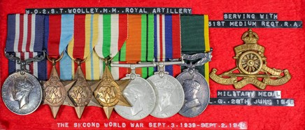 Medals a big success in The Canterbury Auction Galleries April 2016