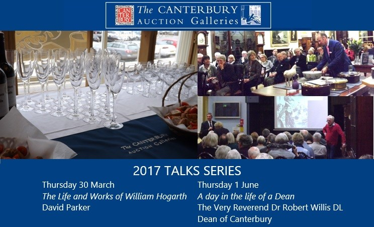The Canterbury Auction Galleries - Annual Pre-Sale Talks 2017 - In Partnership with The Canterbury Festival Banner Image